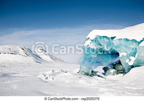 Detalle glaciar - csp2025376