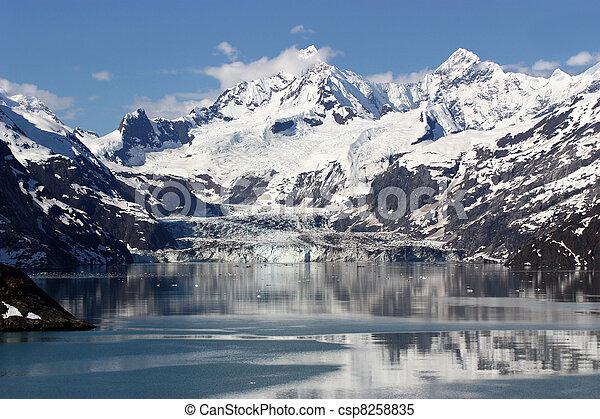 Glacier Bay, Alaska - csp8258835