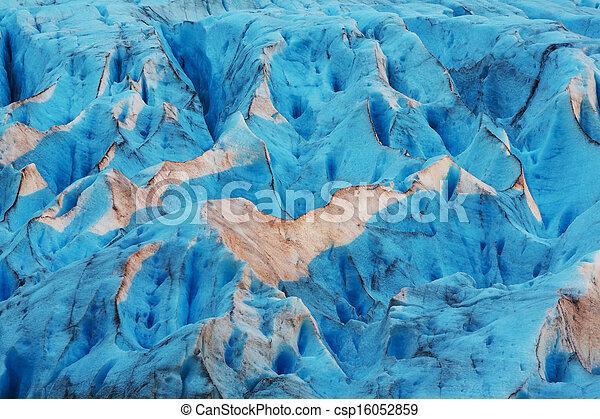 Glacier in Norway - csp16052859