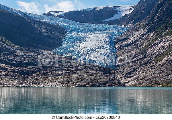 Glacier in Norway - csp20700840