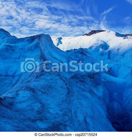 Glacier in Norway - csp20715524