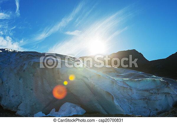 Glacier in Norway - csp20700831