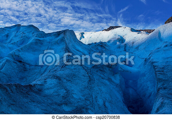 Glacier in Norway - csp20700838