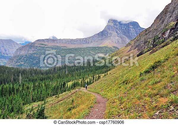 Glacier National Park in Montana - csp17760906