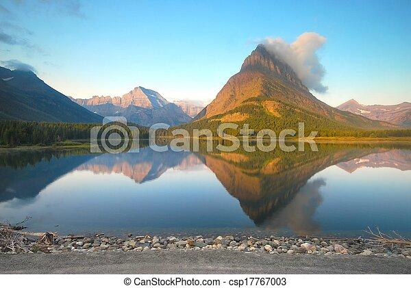 Glacier National Park in Montana - csp17767003