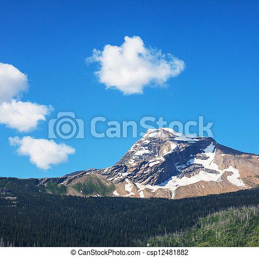 Glacier Park - csp12481882