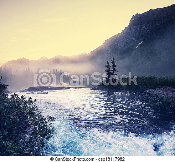 Glacier Park - csp18117982