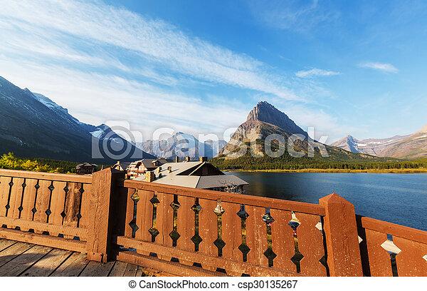 Glacier park - csp30135267