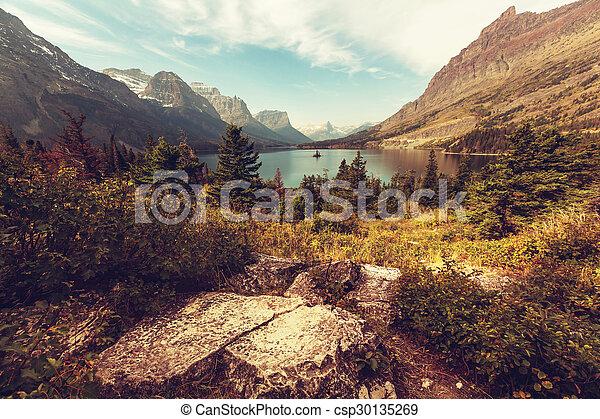 Glacier park - csp30135269