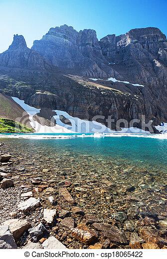 Glacier park - csp18065422