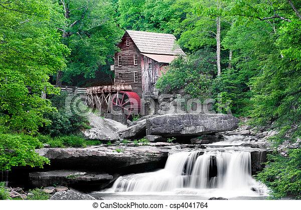 Glade Creek Grist Mill - csp4041764