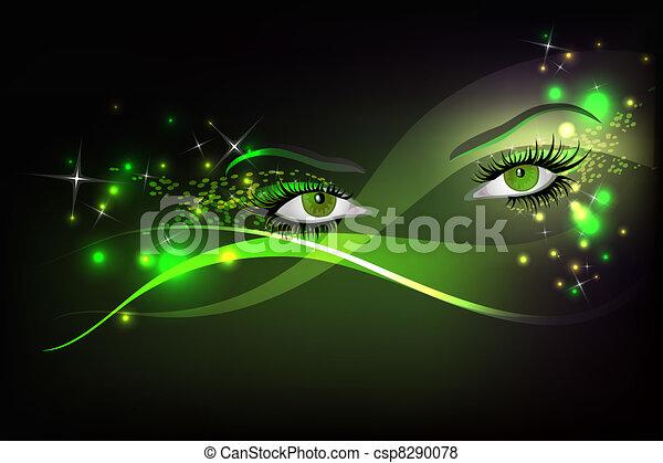 Glamour eyes - csp8290078