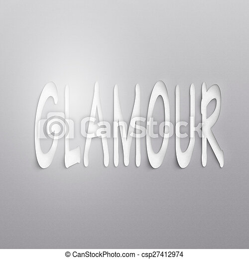 glamour - csp27412974