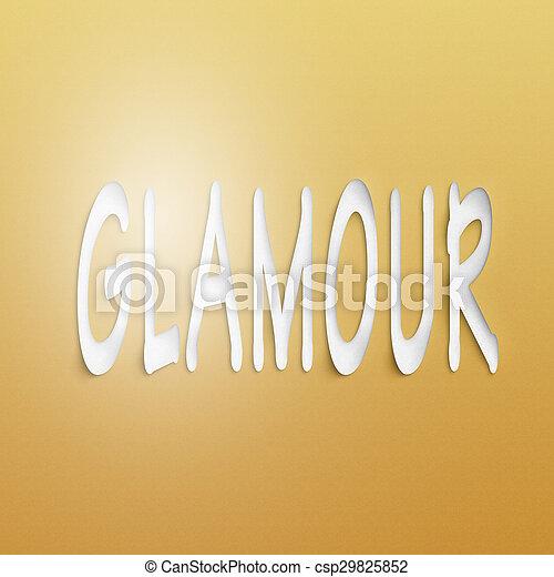 glamour  - csp29825852