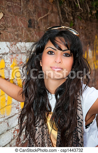 Glamourous Asian Woman - csp1443732
