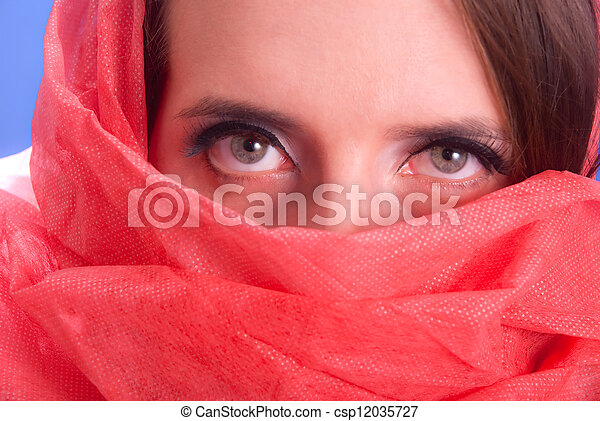 Glamourous eyes - csp12035727