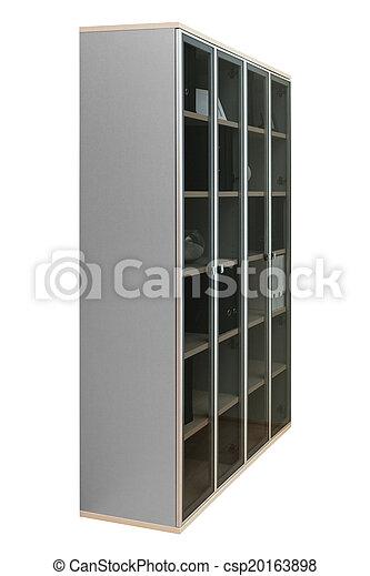 Glas, Bücherregal, Türen   Csp20163898
