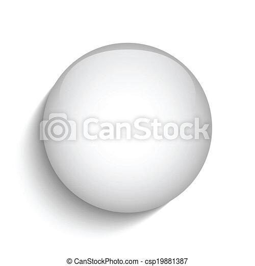 glas, knoop, cirkel, witte , pictogram - csp19881387