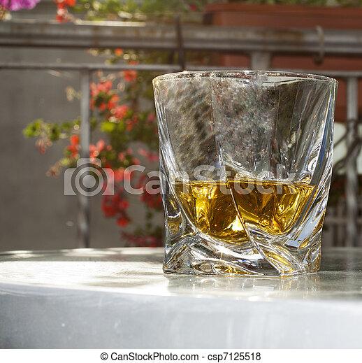 Glas Schnaps Elegant Schnaps Auf Glas Schliessen Balkon