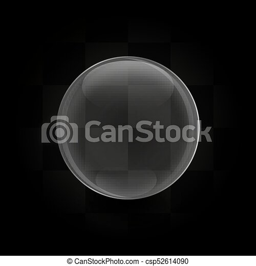 Glaskugel-Vektor - csp52614090