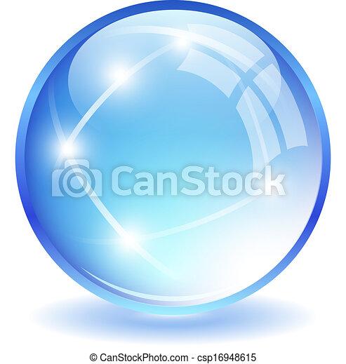 Glass ball - csp16948615