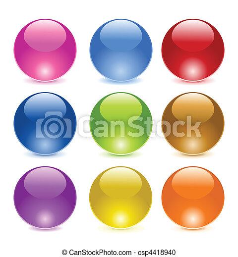 Glass balls - csp4418940
