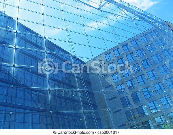 Glass Building - csp0001817