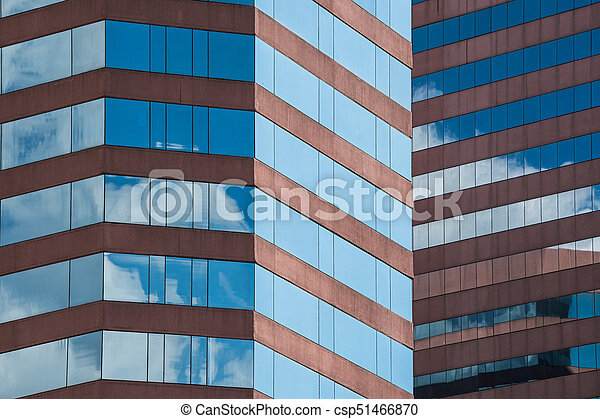 Glass building - csp51466870