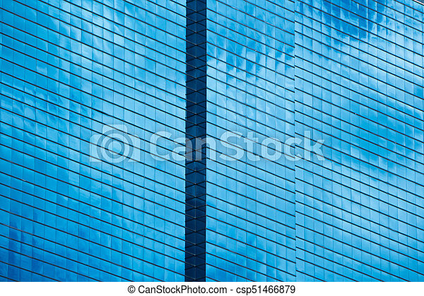 Glass building - csp51466879
