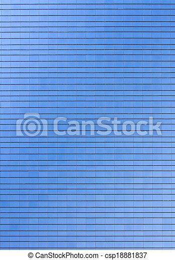 Glass building skyscraper texture pattern - csp18881837