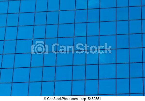 Glass Building - csp15452551