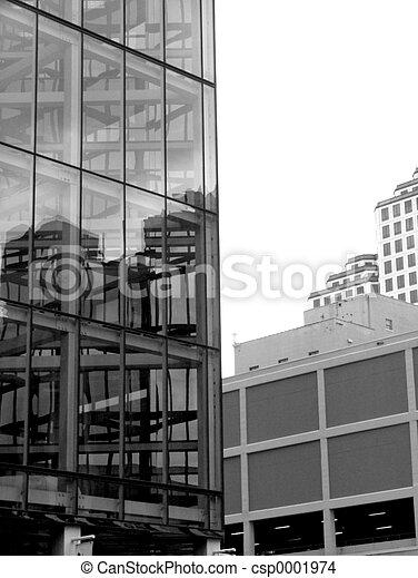 Glass Building - csp0001974