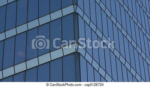 Glass building - csp0126724