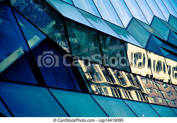 glass building - csp14419095