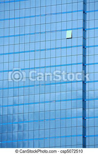 Glass building - csp5072510