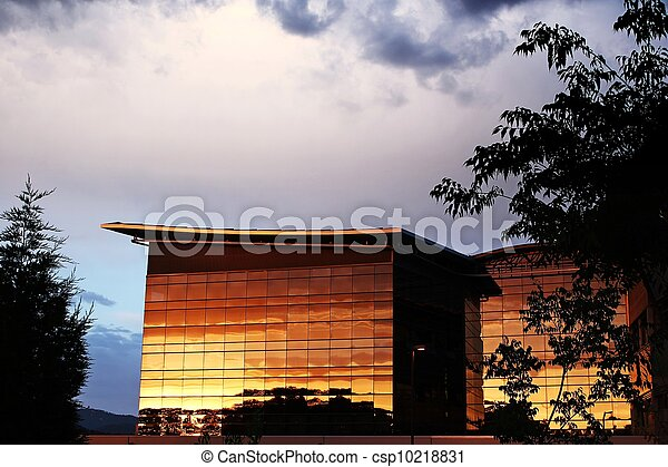 glass building - csp10218831