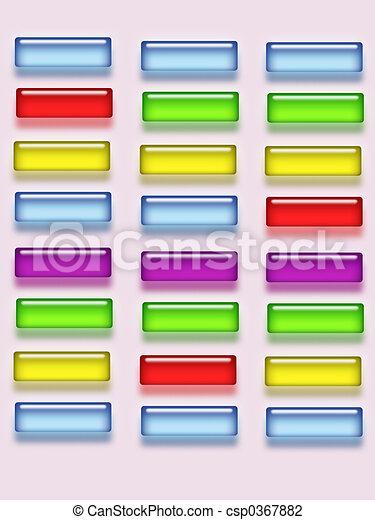 Glass buttons - csp0367882
