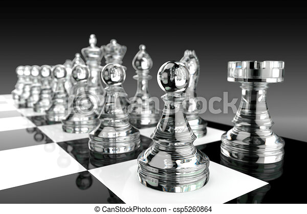 Glass Chess pieces - csp5260864