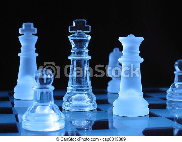 Glass Chessmen - csp0013309