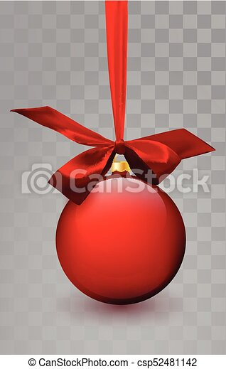 Glass Christmas Red Toy On A Transparent Background Stocking Decorations