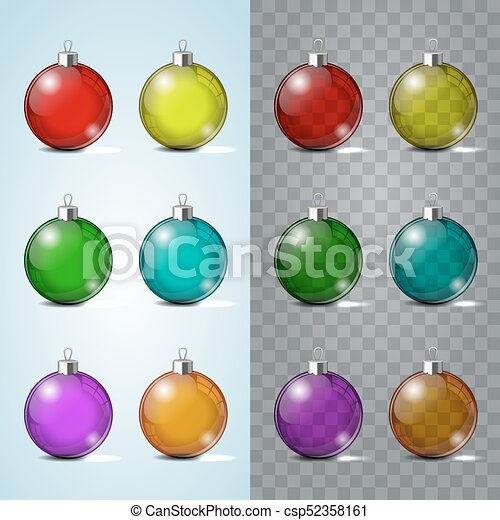Glass Christmas Toy On A Transparent Background Stocking Decorations Element