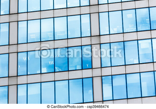 Glass facade texture  Glass facade texture. Fragment of the glass facade in the business ...