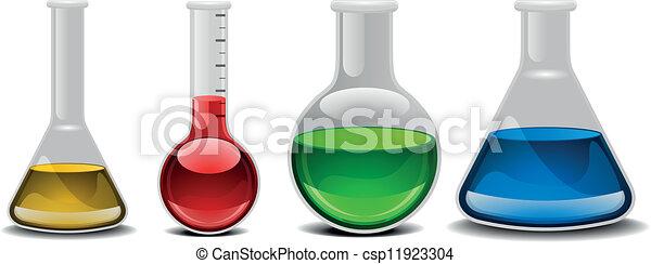glass flasks - csp11923304