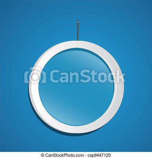 glass frame  - csp9447120
