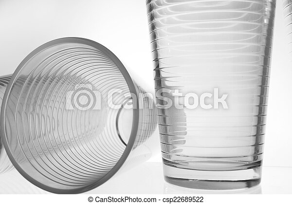 glass isolated on white background - csp22689522