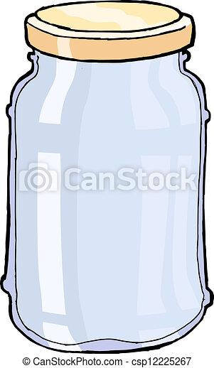 glass jar - csp12225267
