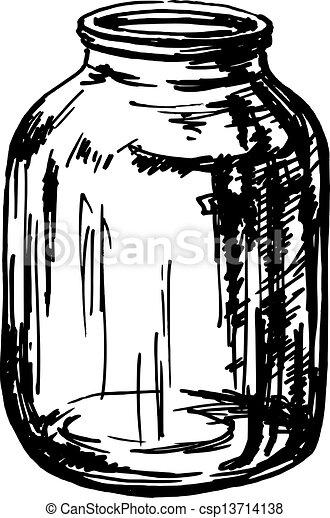 glass jar - csp13714138