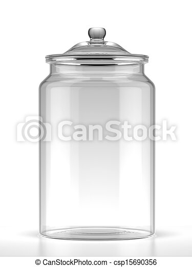 Glass jar - csp15690356