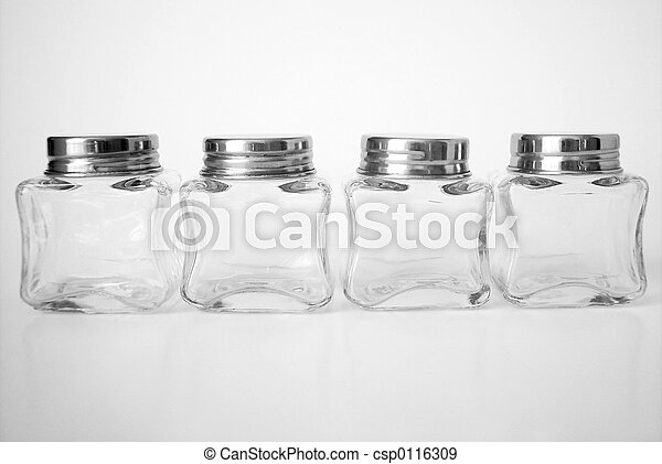 glass jars empty little glass jars