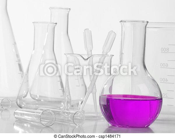 Glass laboratory equipment - csp1484171